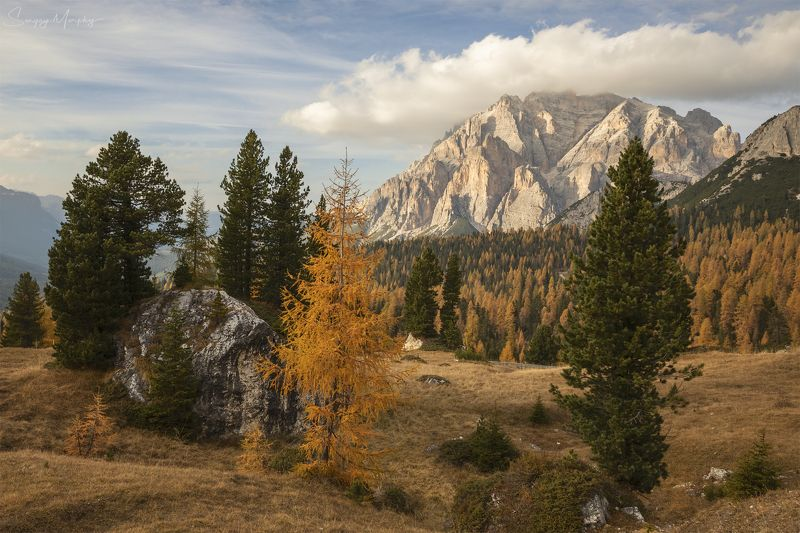 Autumn Dolomites Autumn in Dolomites.photo preview