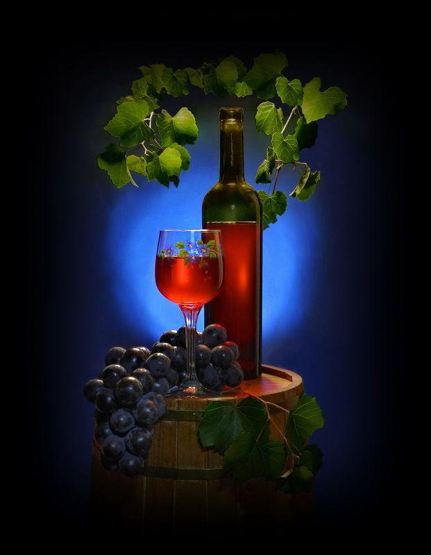 вино виноград ягоды сок Из серии \