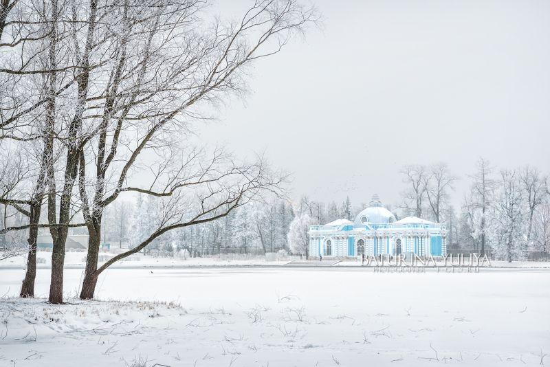 царское село, грот, санкт-петербург Грот и деревьяphoto preview