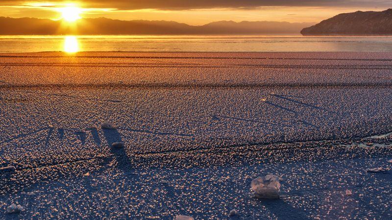 Закат. Байкал.photo preview