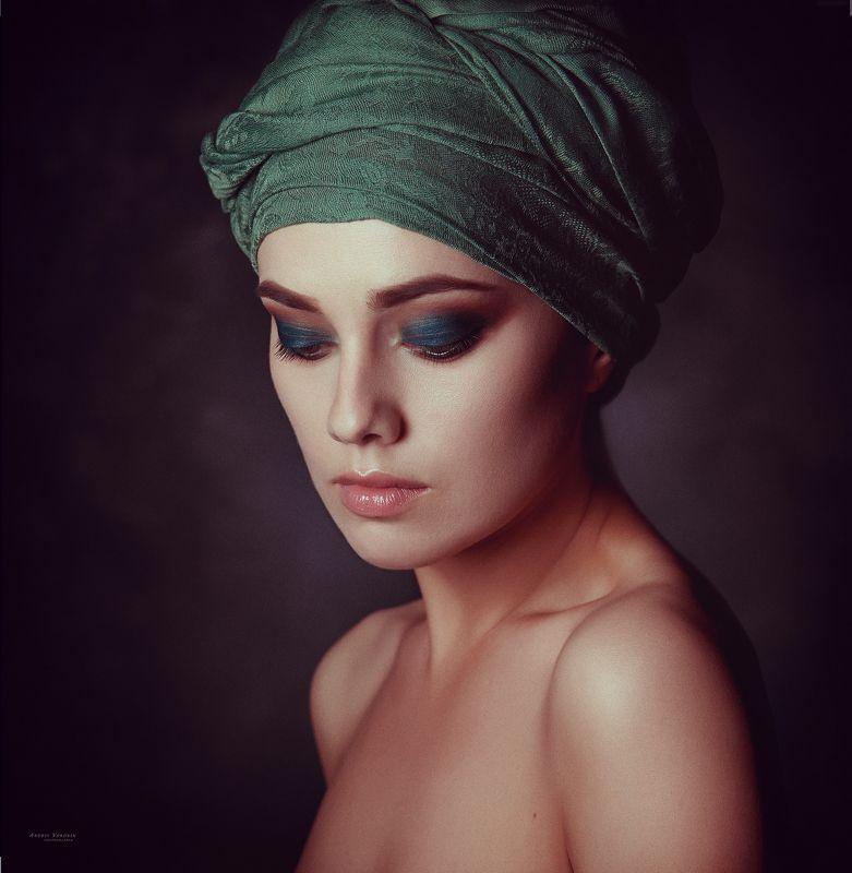 портрет,девушка,макияж,глаза,студия, Портрет М.photo preview