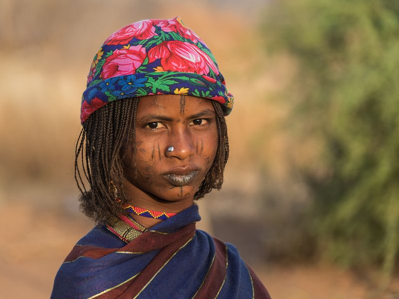 камерун, девочка, портрет Девочка из Камерунаphoto preview