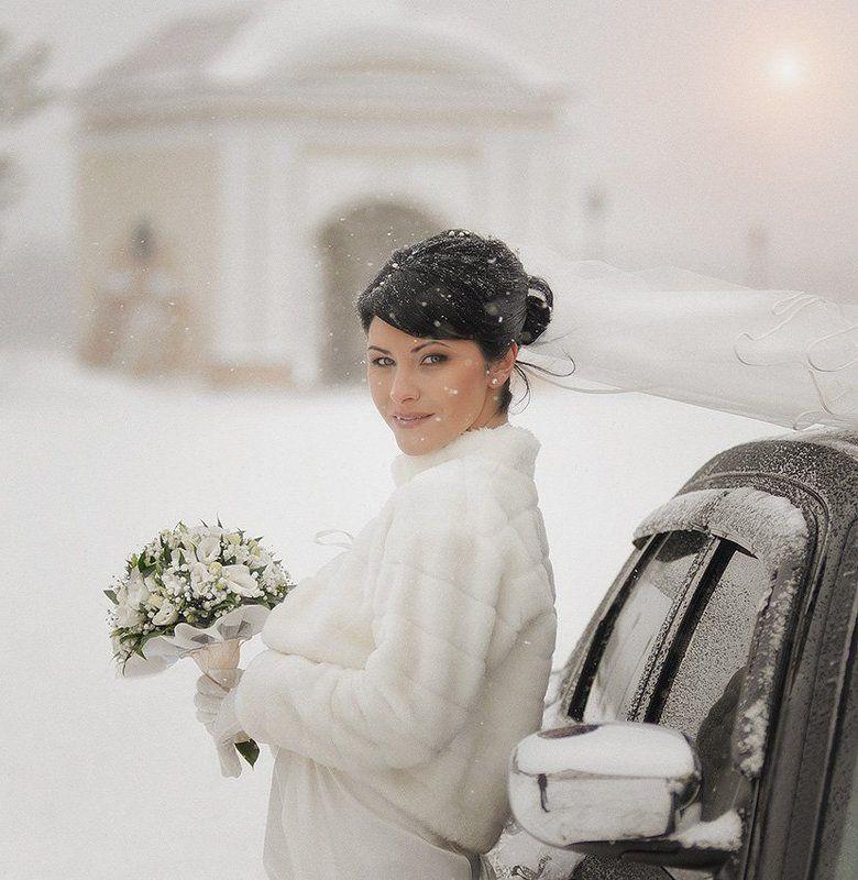 невеста,свадьба,зима,снег,портрет Снежная королеваphoto preview