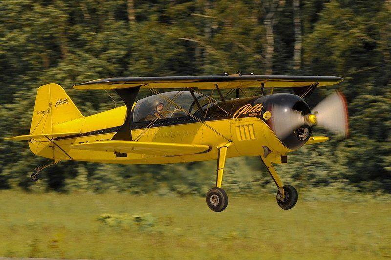 толстый ЖОЛТЫЙ самолетphoto preview