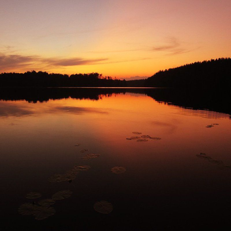 Закат на Ястребиномphoto preview