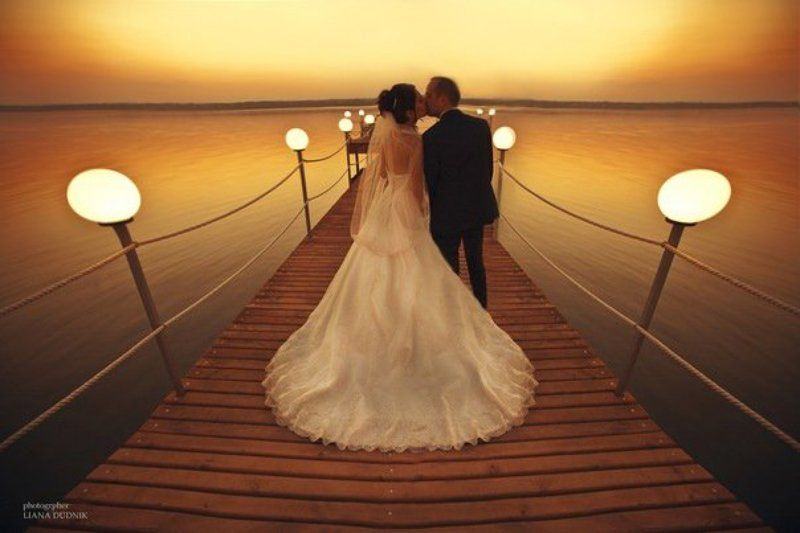 закат , мост , свадьба, любовь lovephoto preview