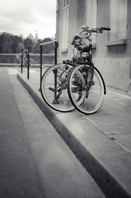 париж, 4-й округ, ile saint-louise, велосипед, улица L\'amourphoto preview