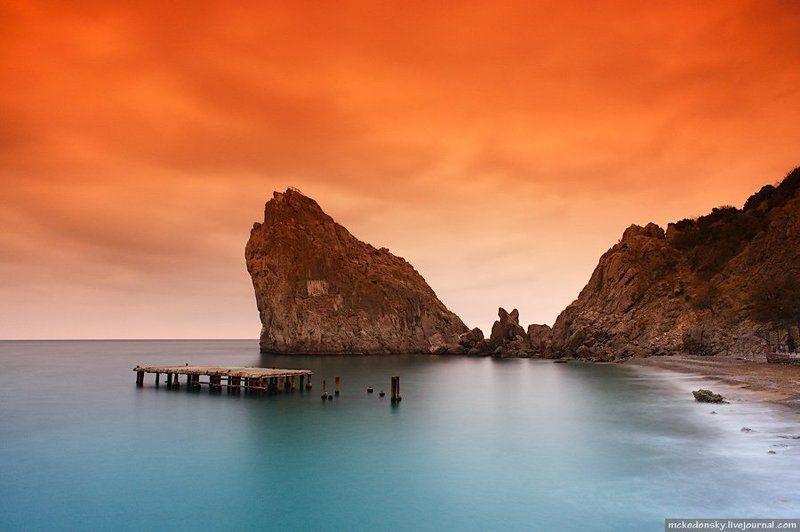 симеиз, украина. крым, море, скала, дива, небо, tobaco, cokin Разный симеизphoto preview