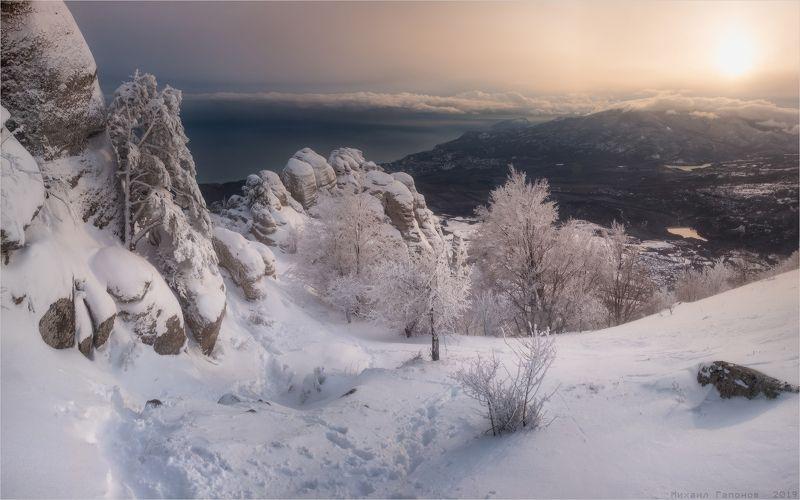 Зимняя сказка Демерджиphoto preview