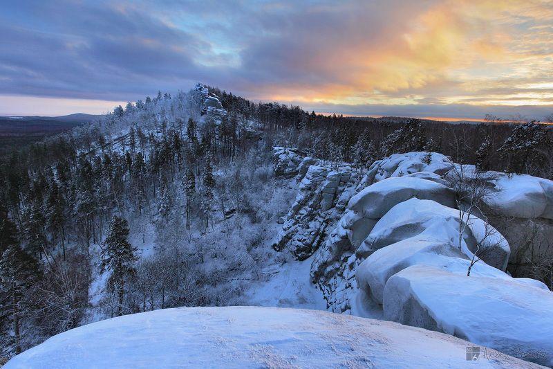 аракуль, зима, урал, вечер Вечер на Аракулеphoto preview