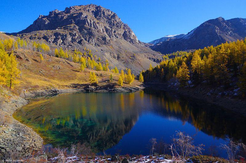 алтай, куюктанар, озеро, горы, осень Куюктанарские озераphoto preview