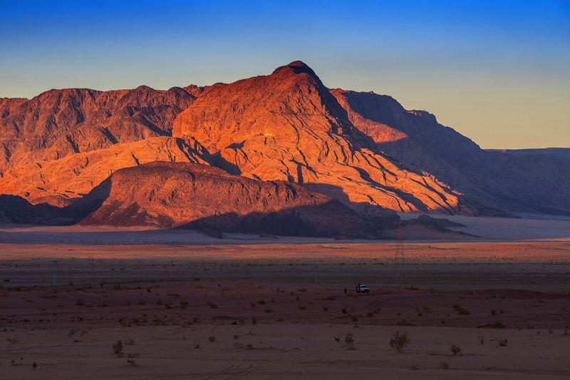 иордания, декабрь, пустыня Декабрьский вечерphoto preview