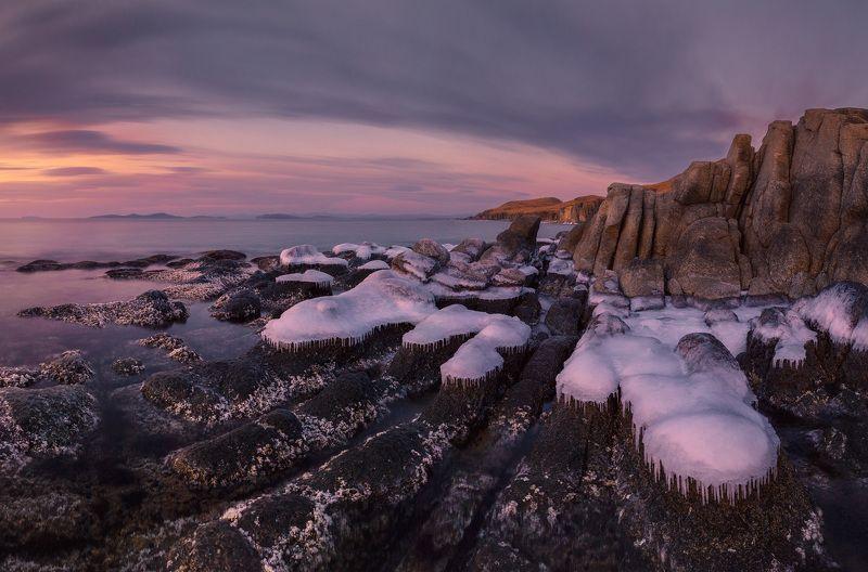 зима, море, утро, лёд ***photo preview