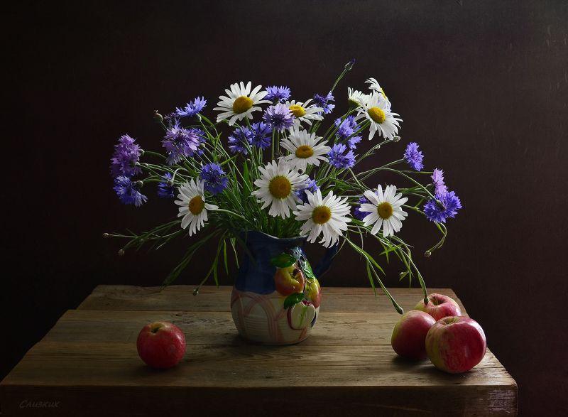 натюрморт,композиция,букет,цветы,ваза,лето,свет Это было летоphoto preview