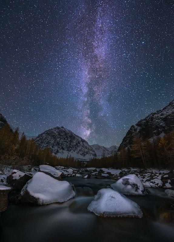 Под звёздами Актру. фото превью