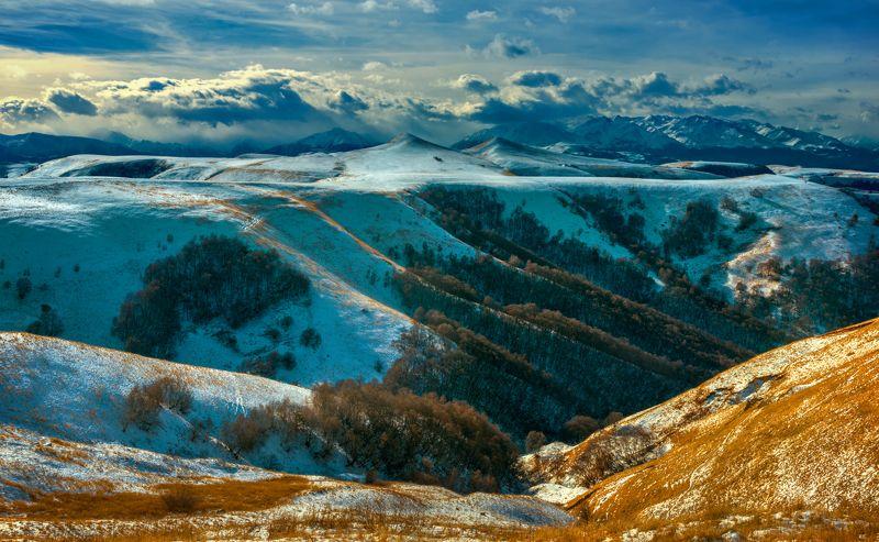 перевал,зима,гумбаши,день,пейзаж,кчр На перевале Гумбашиphoto preview