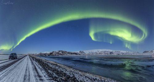 Road 218. Dyrholaey. Iceland.
