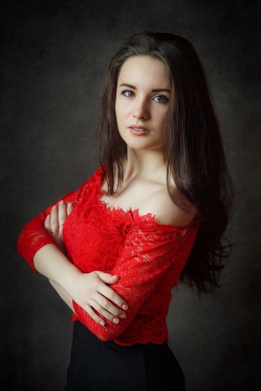 девушка, портрет Алинаphoto preview
