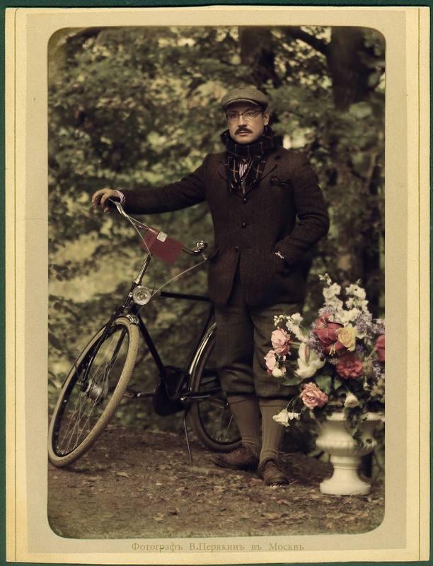велосипедист..photo preview