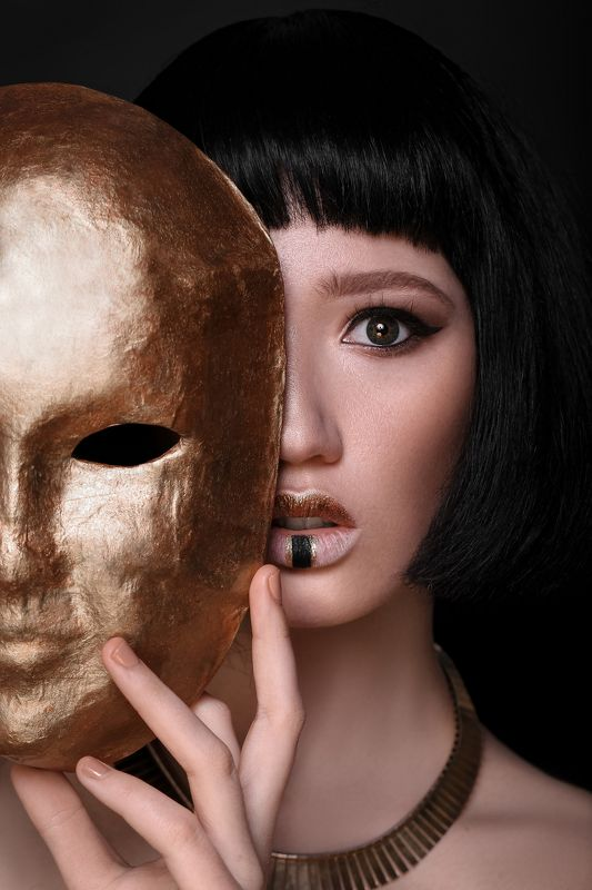 портрет арт art девушка красота модель египет Hevaphoto preview