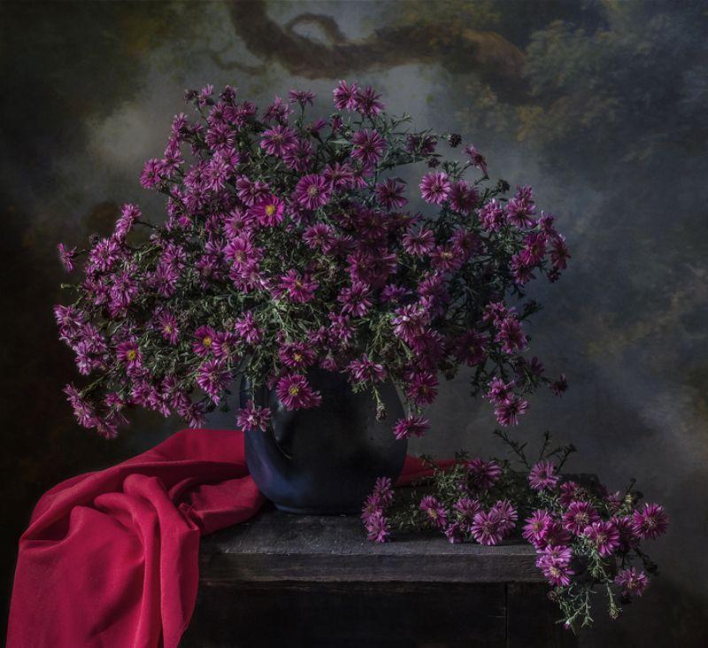натюрморт, цветы, still life Сентябриныphoto preview