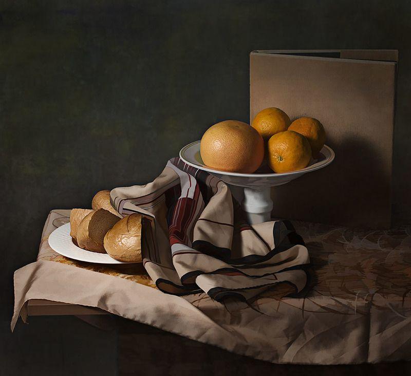 мандарины и горбушкиphoto preview