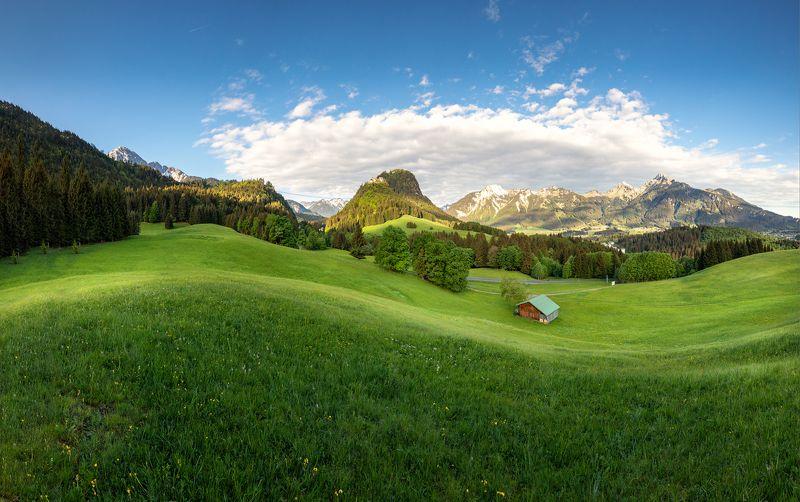 Альпы.  Альпийский ландшафтphoto preview