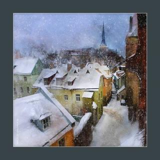 снег в Таллинне