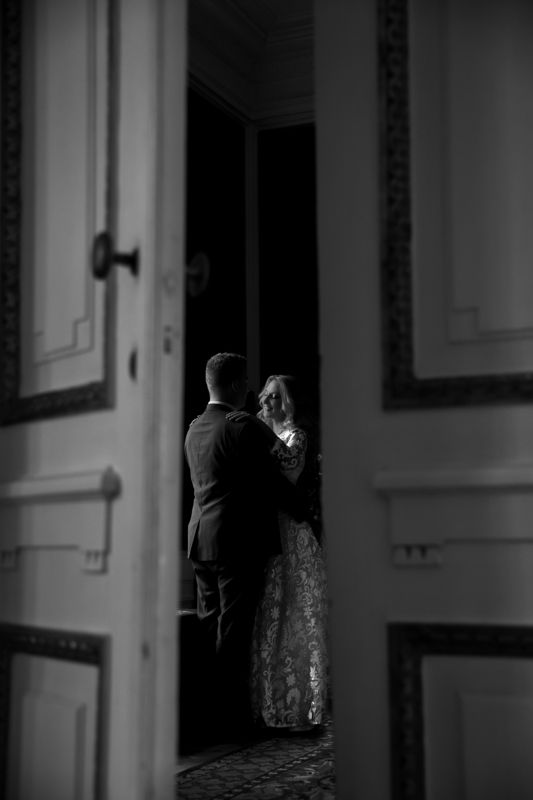 wedding, groom, bride, black and white Groom and bridephoto preview