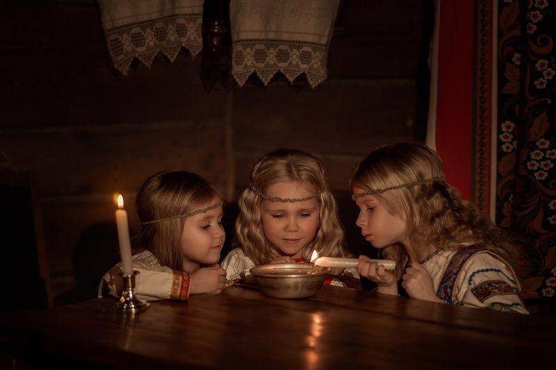 святки, крещение, рождество, сочельник, гадание, свеча, воск Святочные гаданияphoto preview