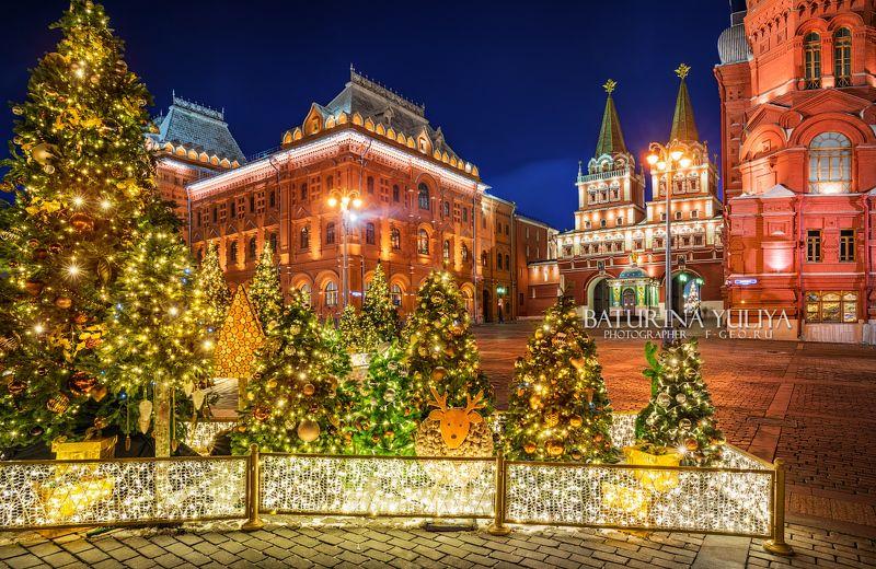москва, новый год, елка Украшения Нового годаphoto preview