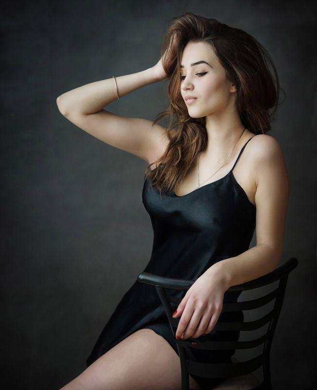 девушка, портрет Аннаphoto preview