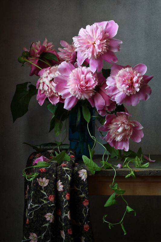 натюрморт, цветы, пионы, букет Букет пионовphoto preview