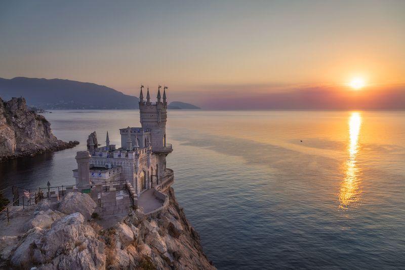 Крым, Рассвет, море, пейзаж Рассветphoto preview