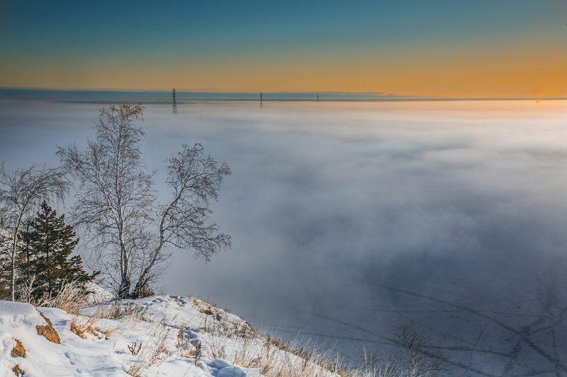 Туман над рекойphoto preview