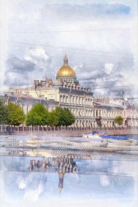 Питерская акварельphoto preview