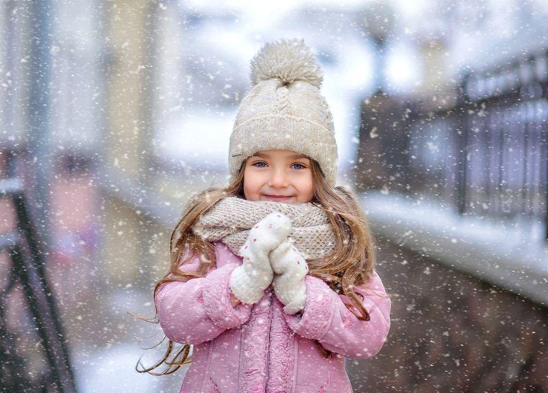 Зима в городеphoto preview