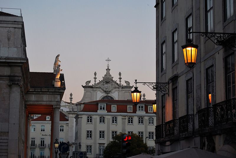 city, travel, street, Lisbon in the afternoonphoto preview