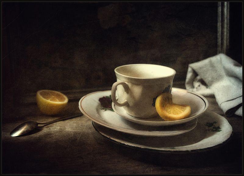 Вот, чай с лимончиком..был..photo preview