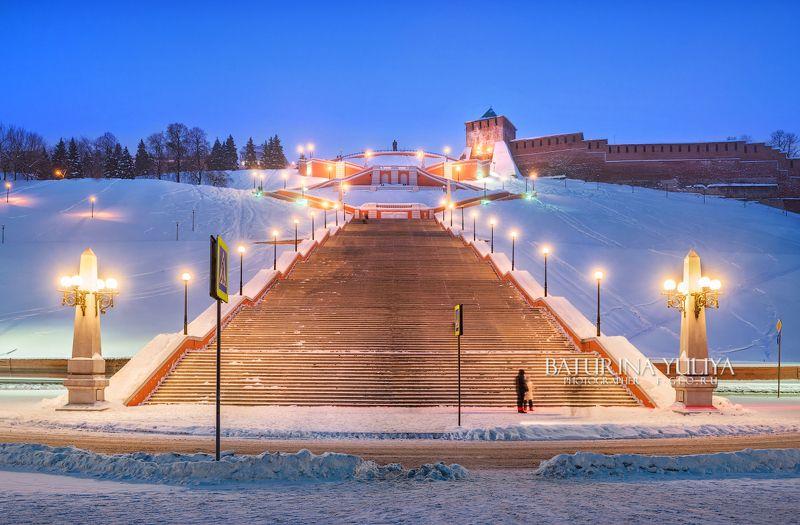 нижний новгород, чкаловская лестница Чкаловская лестница в Нижнем Новгородеphoto preview