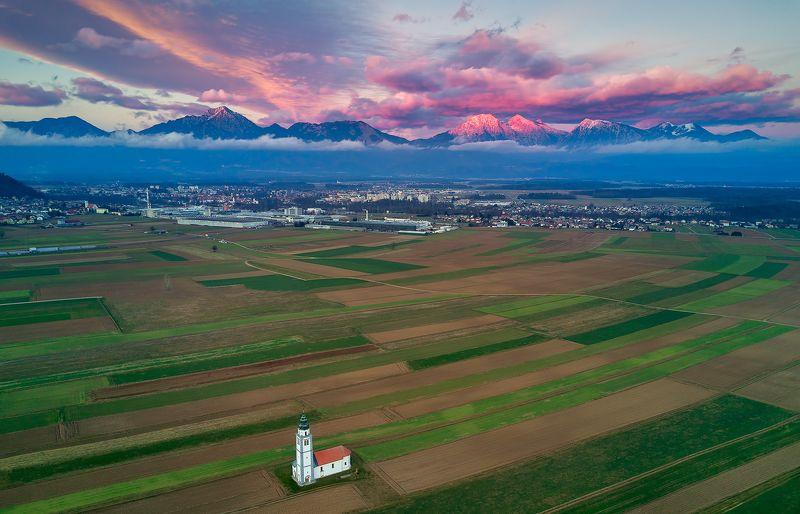 словения, квадрокоптер, дрон Вечер в Словенииphoto preview