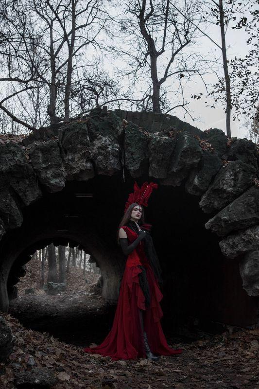 фото фешн девушка Пост апокалипсисphoto preview
