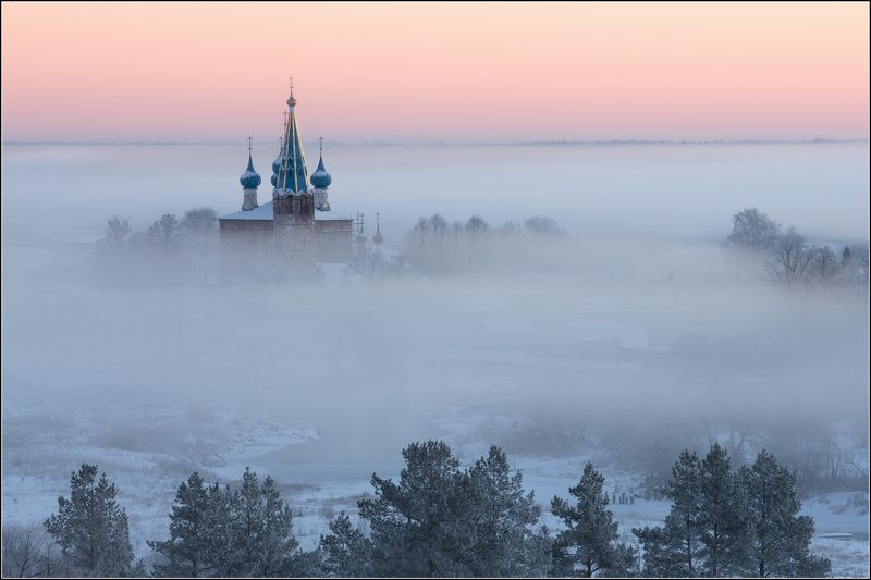 россия, ивановская обл, дунилово Затуманила зимаphoto preview