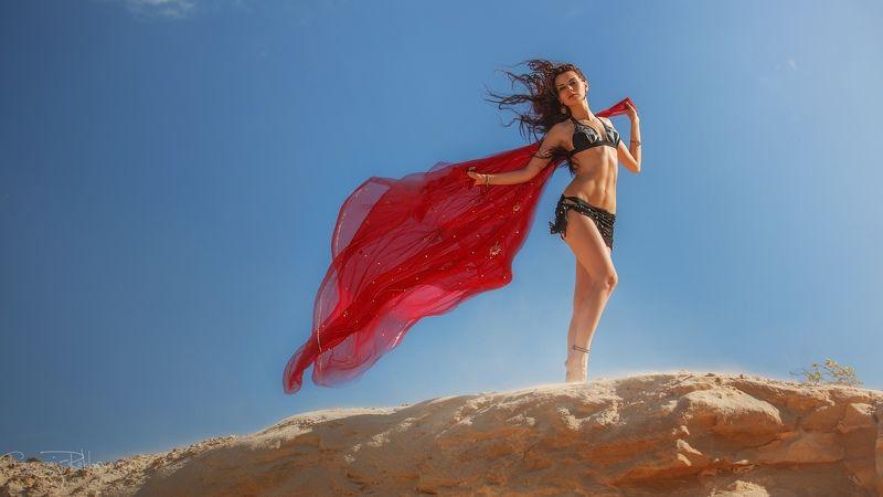 пески, пустыня, модель, девушка, beauty, rekhov Рождённая свободной...photo preview