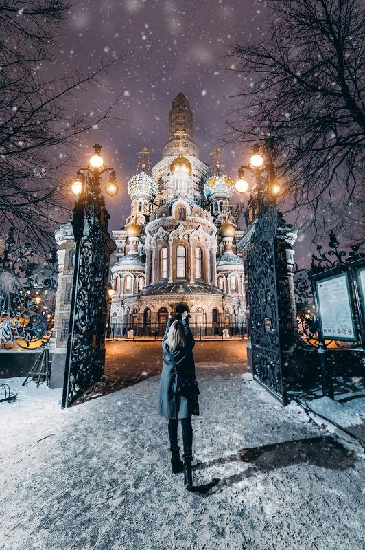 #зима #пейзаж #город #улица #winter #city #portrait #street Прогулка по Петербургуphoto preview