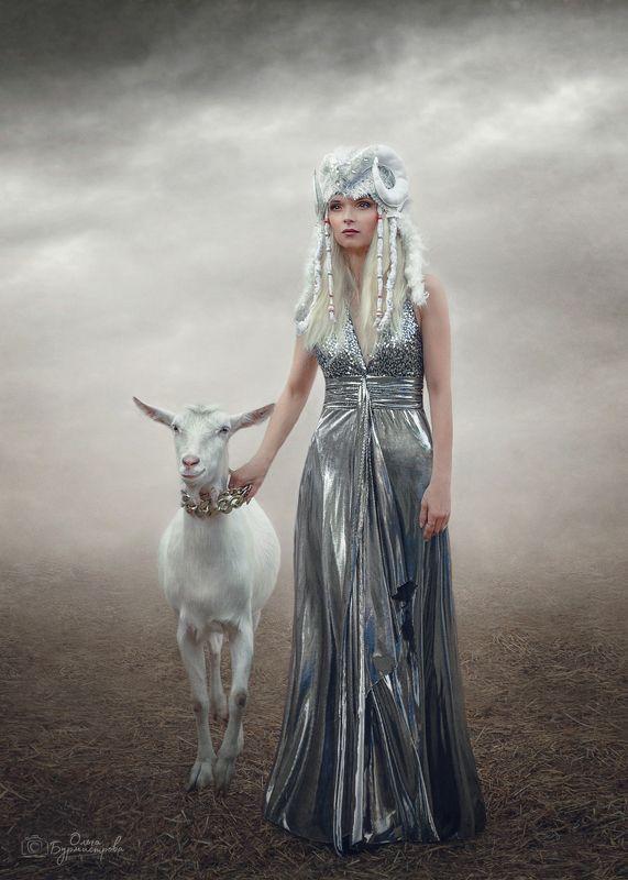 фото в образе, сказка, арт фото Сестрица Алёнушка и братец Иванушкаphoto preview