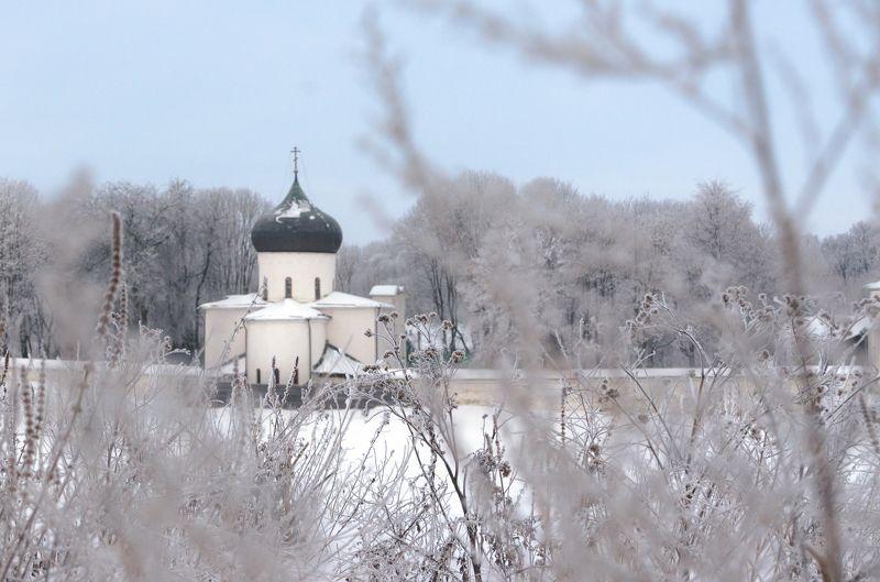 Псков, Россия, зима Зимний Псковphoto preview