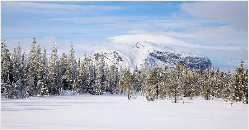 зима , снег , норвегия , хемседал , пейзаж Снежная Норвегия  / Хемседал /photo preview