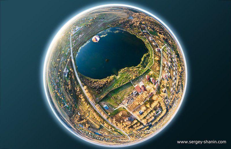 циркуляр, полет, воздушный, шар Полетphoto preview