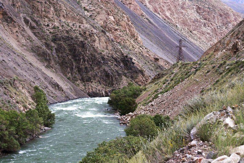 кекемерен, кокомерен, горная река, киргизия, горы, ущелье, путешествие Дорогой вдоль Кекемеренаphoto preview